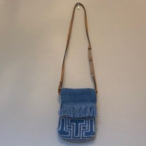 Tory Burch towel phone cross-body